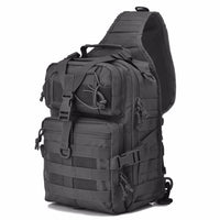 Military Tactical Assault Pack Sling Backpack Army Molle Waterproof EDC Rucksack Bag for Outdoor Hiking Camping Hunting 20L