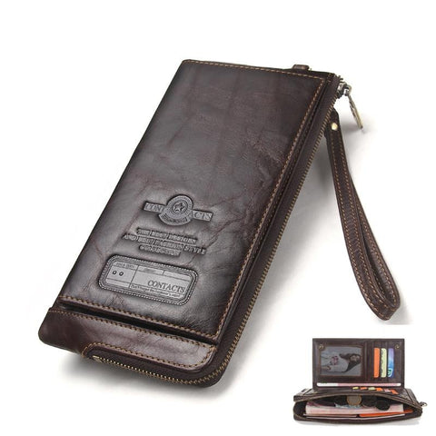 Genuine Leather Brand Rfid  Wallet