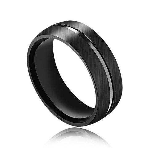 Punk Rock black ring