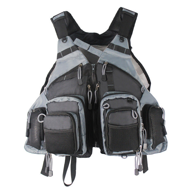 Mutil-Pocket Outdoor Fly Fishing Vest