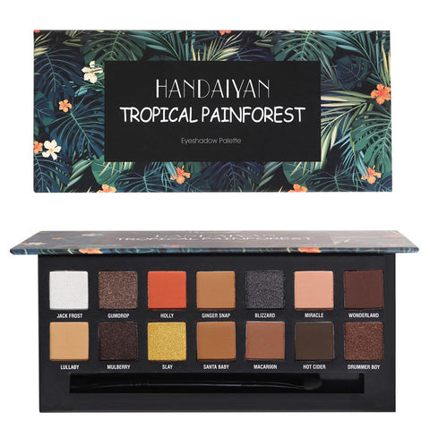 Pressed Matte Eyeshadow Palette Diamond Eye Shdow
