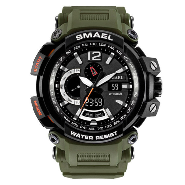 Waterproof Sport Quartz Watch