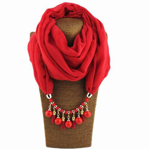 Women Solid Color Polyester Shawls