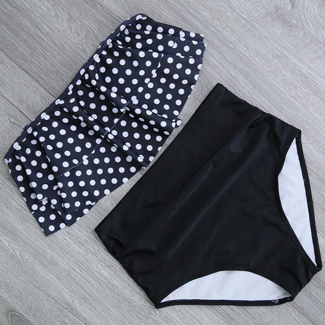 High Waist Bathing Suit