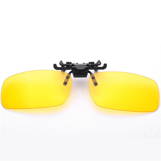 Men Women Retro Flip Up Polarized Sunglasses
