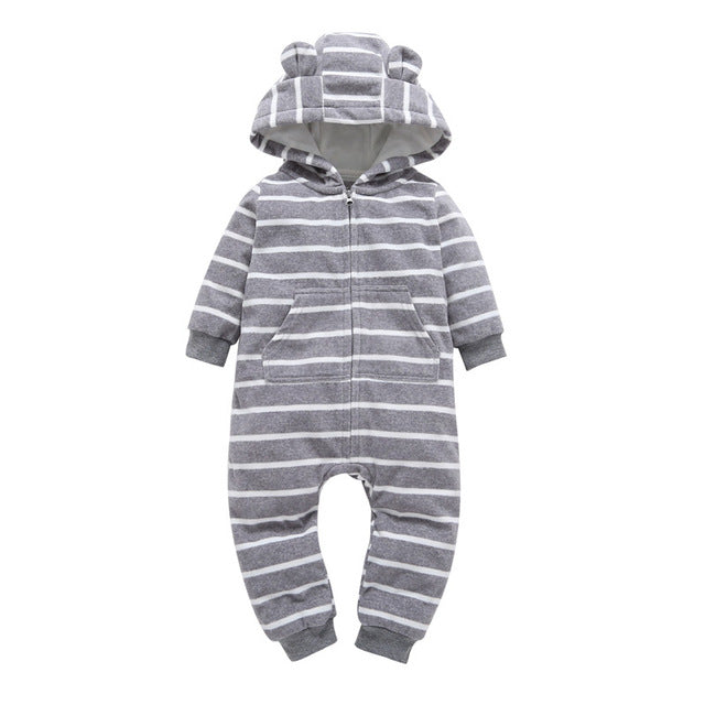Print Full O-neck Autumn Winter Baby Clothes