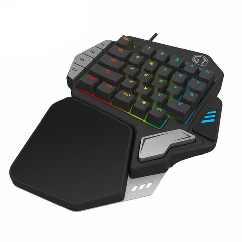 Mechanical Gaming Keypad fully programmable USB wired keyboards
