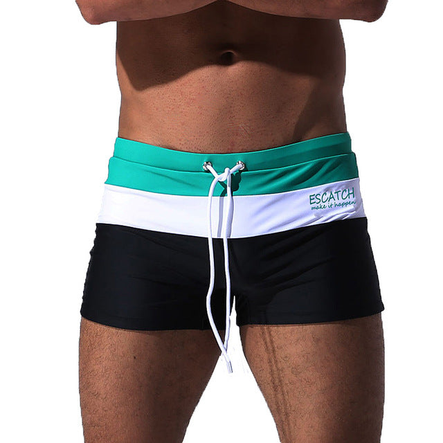 Mens Swimwear   Swim Suits Boxer Shorts