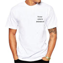Logo/Picture White Custom t-shirt