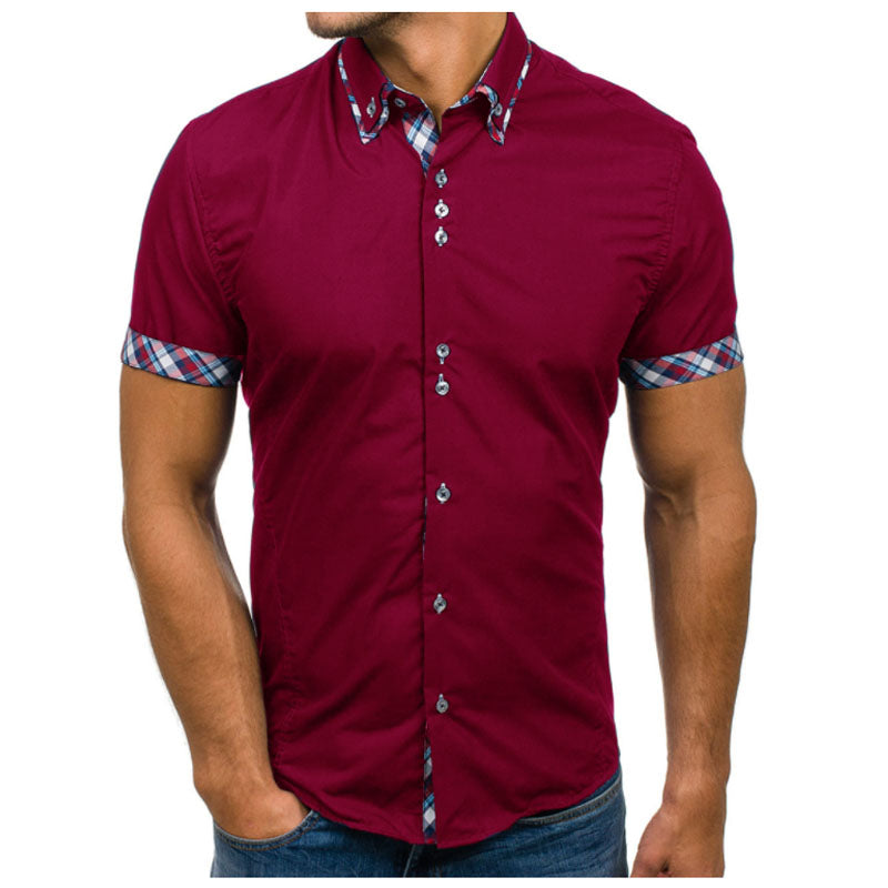 Men'S Slim Fit Dress Shirt