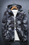 men Thin military jacket