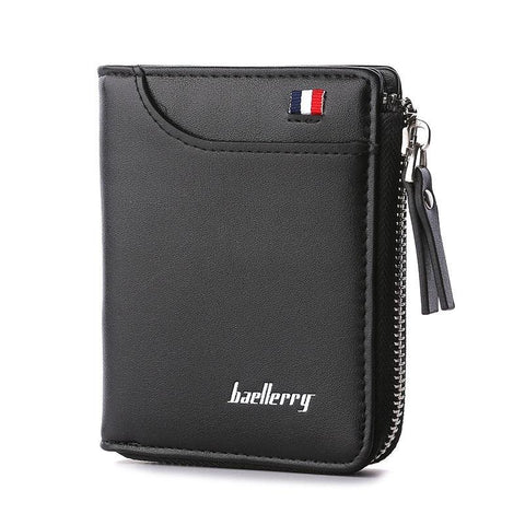 Leather Card Holder Short Wallet