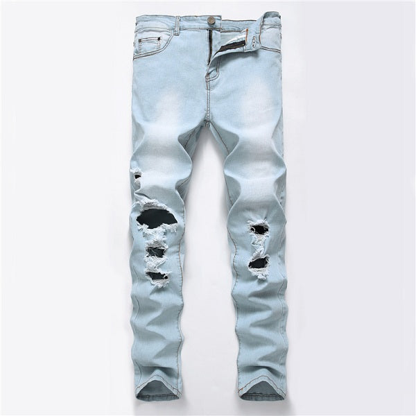 European High Street Motorcycle Biker Jeans