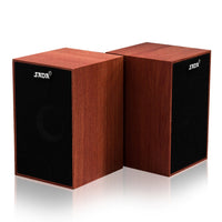 Super Bass Mini Wooden PC Speaker