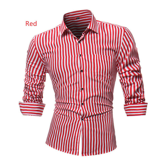 Classic Long Sleeve Casual Shirt