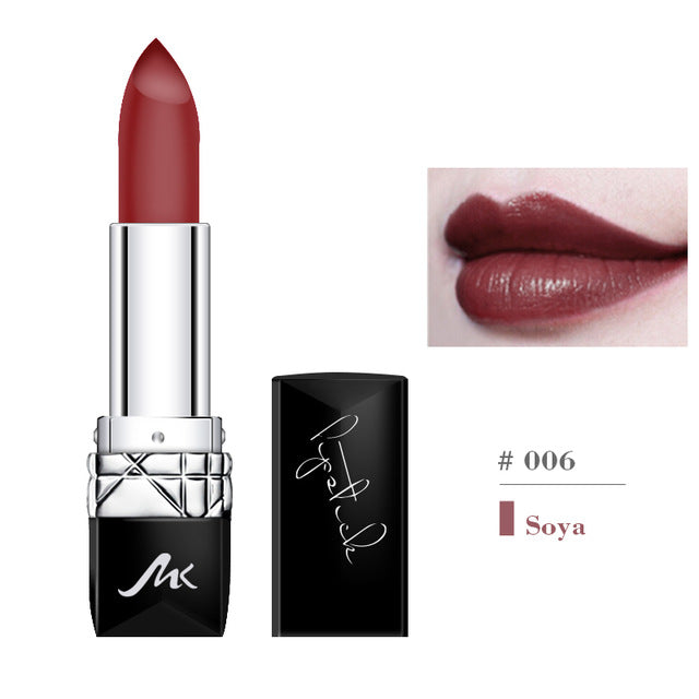 6 Color Matte Lipstick