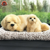 car styling decoration Creative Activated carbon simulation dog new car Purifying air Plush toys dolls Remove formaldehyde gift