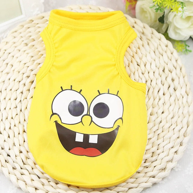 New Fashion Sports Dog Clothes T Shirt Costume Yorkshire Chihuahua Puppy Pet Dog Clothing Cool Summer Cat Dog Shirt Vest XS-XL
