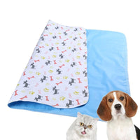 Nine Patterns of Waterproof Reusable Dog Bed Mats For Dog Urine Pads Puppy Pee Pad Pet Training Pad Rug with 3 Size PTP-803-811
