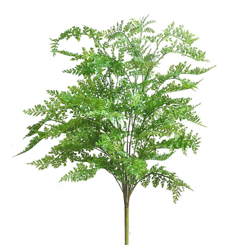 75CM New High Quality Artificial Big Fern Grass Tree Plant Fern Grass Fake Potted Plant Home Garden Decor Decorative Plant Tree