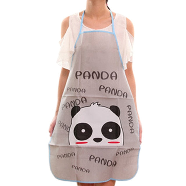 Anti-wear Anti Fouling Cooking Kitchen Restaurant Bib Apron With Pockets Cooking Baking Aprons Kitchen Women Lady Restaurant
