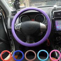 Jingyuqin Universal Car Steering Wheel Cover