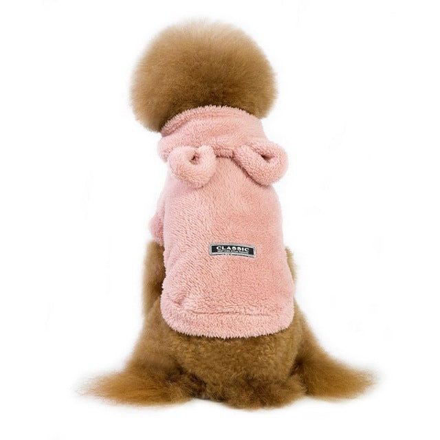 Classic Winter Warm Dog Clothes For Small Dogs Thicken Puppy Pet Cat Coat Jacket Chihuahua Yorkshire Clothing