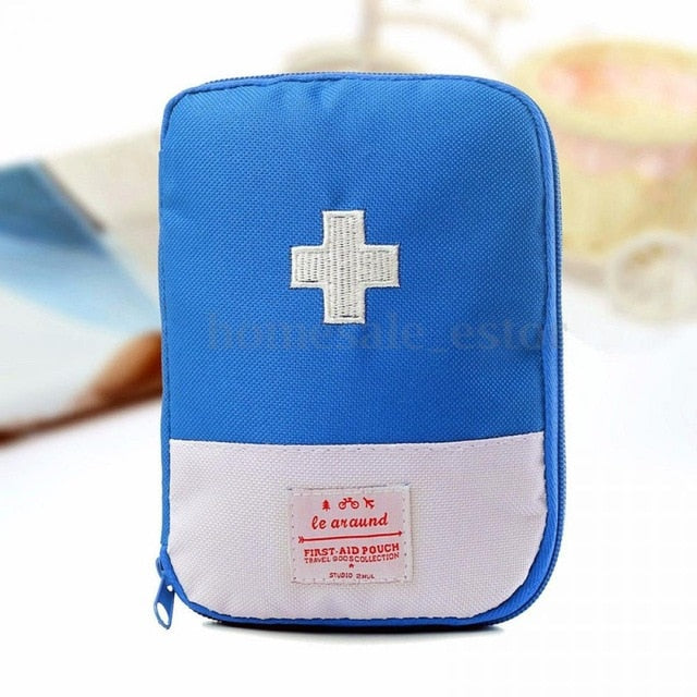 Portable Storage First Aid Emergency Medicine Bag Outdoor Pill Survival Emergency Kits Package Organizer Travel Accessories