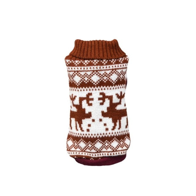 15 Color Knitted Dog Sweater