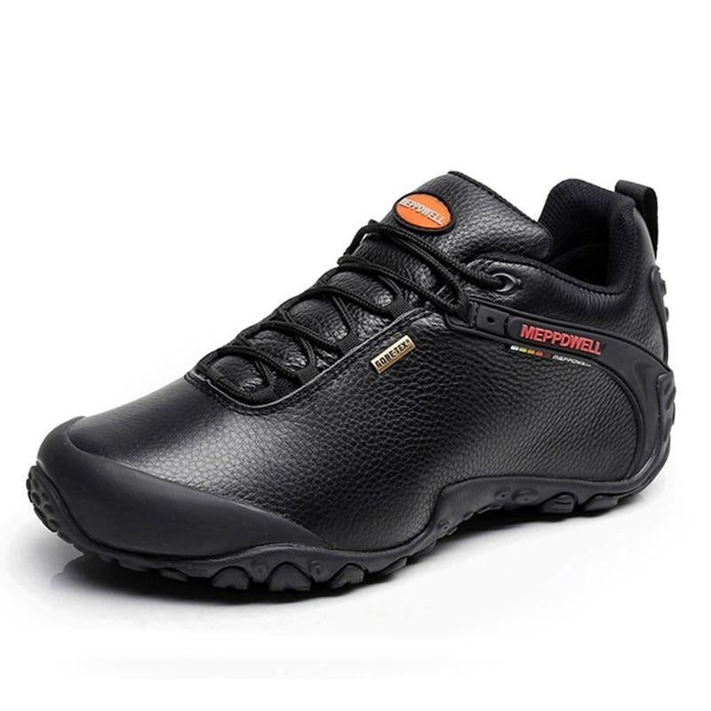 High Quality Unisex Hiking Shoes Autumn Winter genuine leather Outdoor Mens women Sport Trekking Mountain Athletic Shoes 224-5