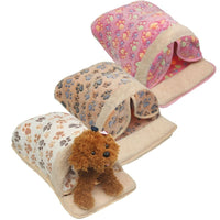 Pet Dog Puppy Cat Warm Sleeping Cushion Bed House Non-slip Hut Basket Kennel Sofa Washable Mat Bag Cartoon Little Dog Kennel