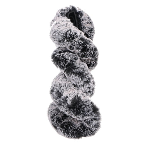 Super Soft Plush Car Steering Wheel Cover Universal | Warm Faux Fur Steering Wheel Cover