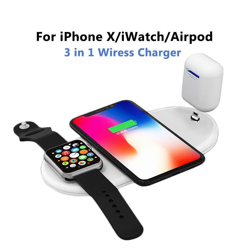 10W 7.5 QI Fast Wireless Charger