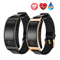 YourT  CK11S Smart Band Blood Pressure Heart Rate Monitor Wrist Watch Bracelet Fitness Bracelet Tracker Pedometer Wristband