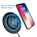 FLOVEME Universal Qi Fast Wireless Charger For iPhone X XS Max XR Charger USB 10W Power Charging For Samsung Galaxy S8 S9 Note 8