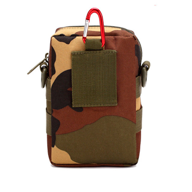 Outdoor bags tactical military bag men's mini mountaineering bag solid color camouflage pocket pocket Free shipping sale