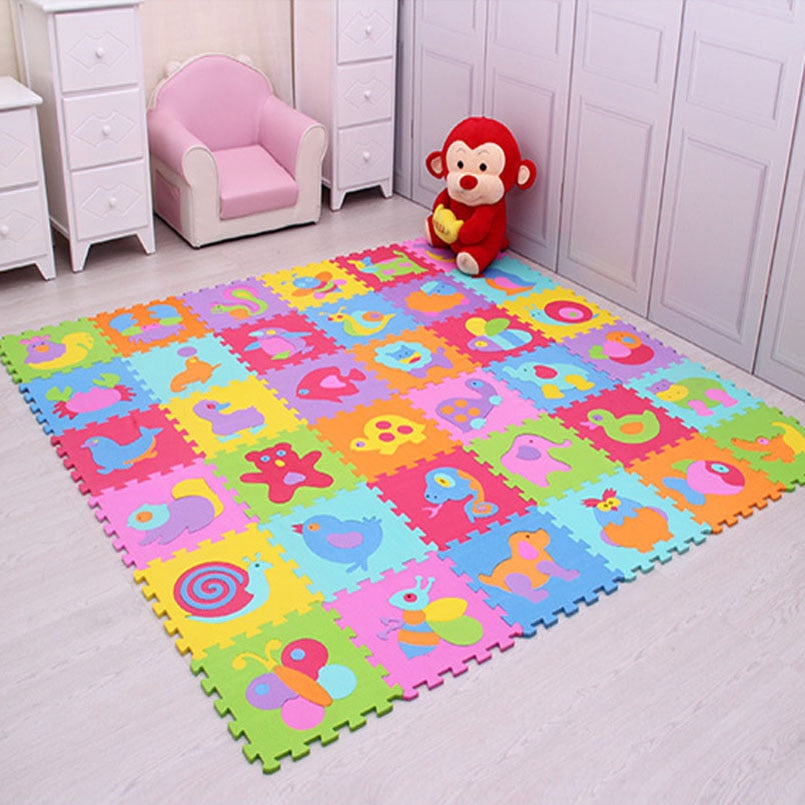 Stitching Crawling  Animal Carpet