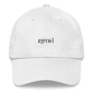 Foreign Dad Cap (White)