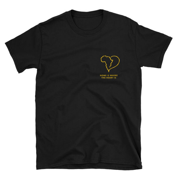 'Home Is Where The Heart Is' T-Shirt (Black)