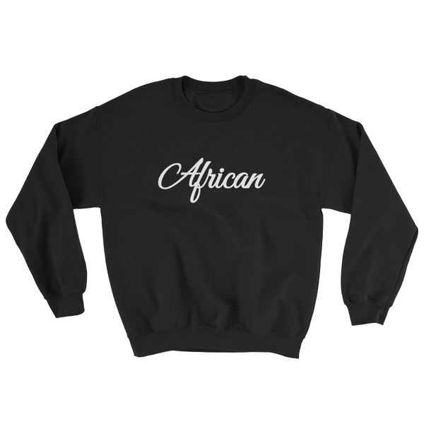 African Signature Sweatshirt (BLACK)