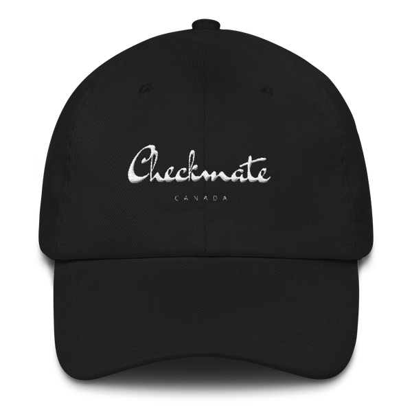 Checkmate Signature Dad Cap (Black)