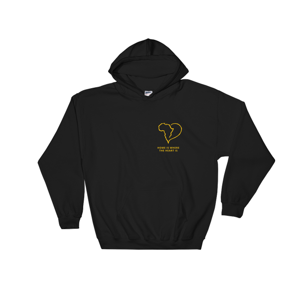 Home is where the heart is Black Hoodie