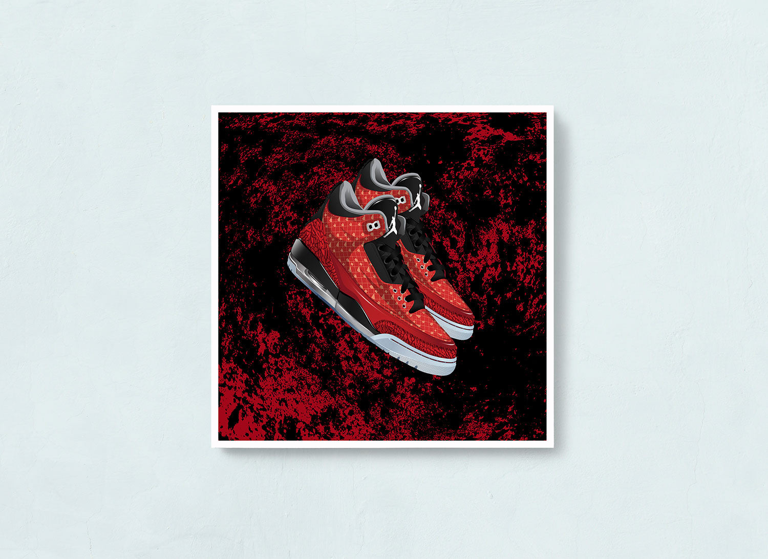 Air Jordan 3 Doernbecher Contemporary Art Print