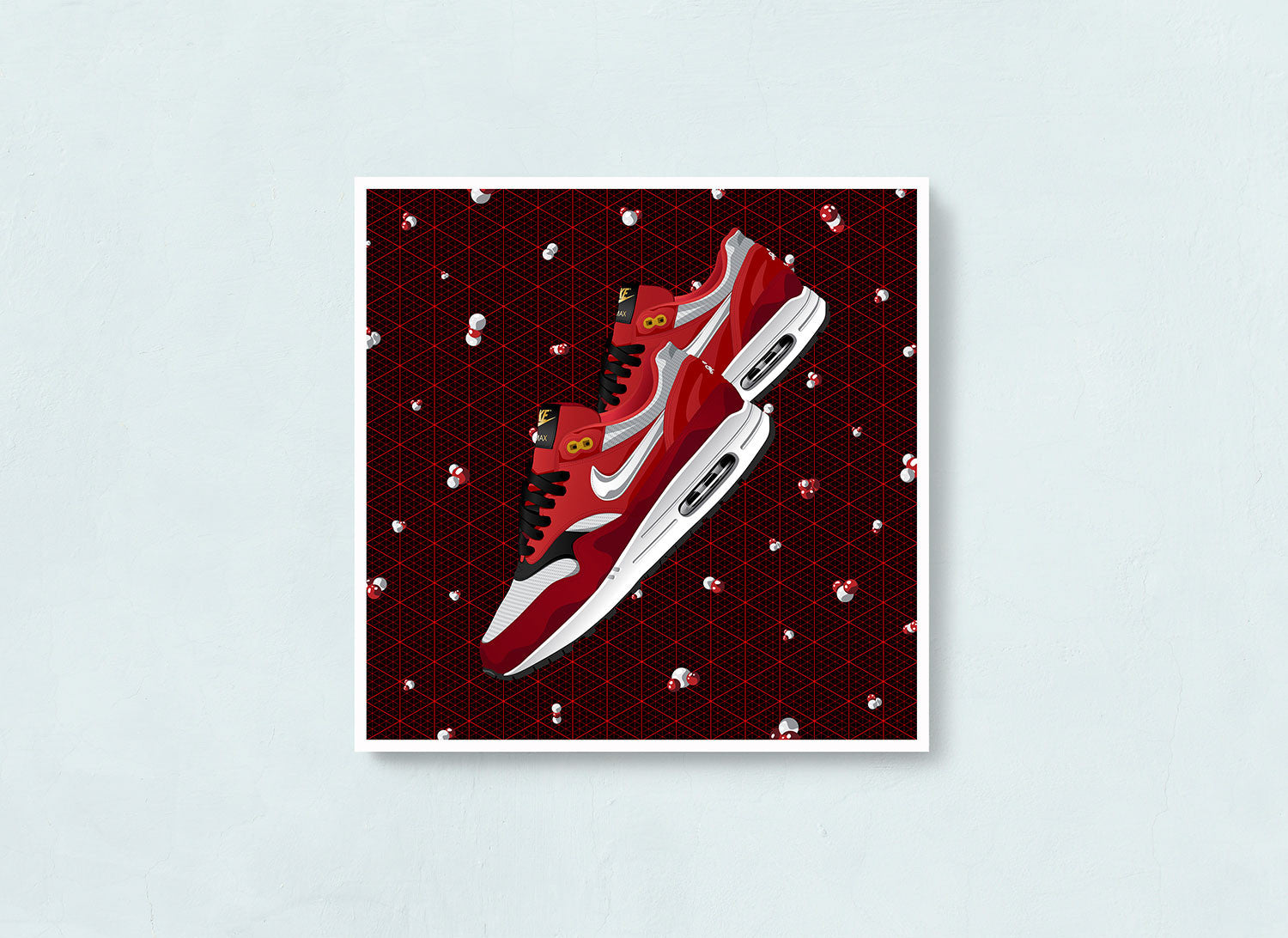 Nike Air Max 1 Urawa Contemporary Art Print