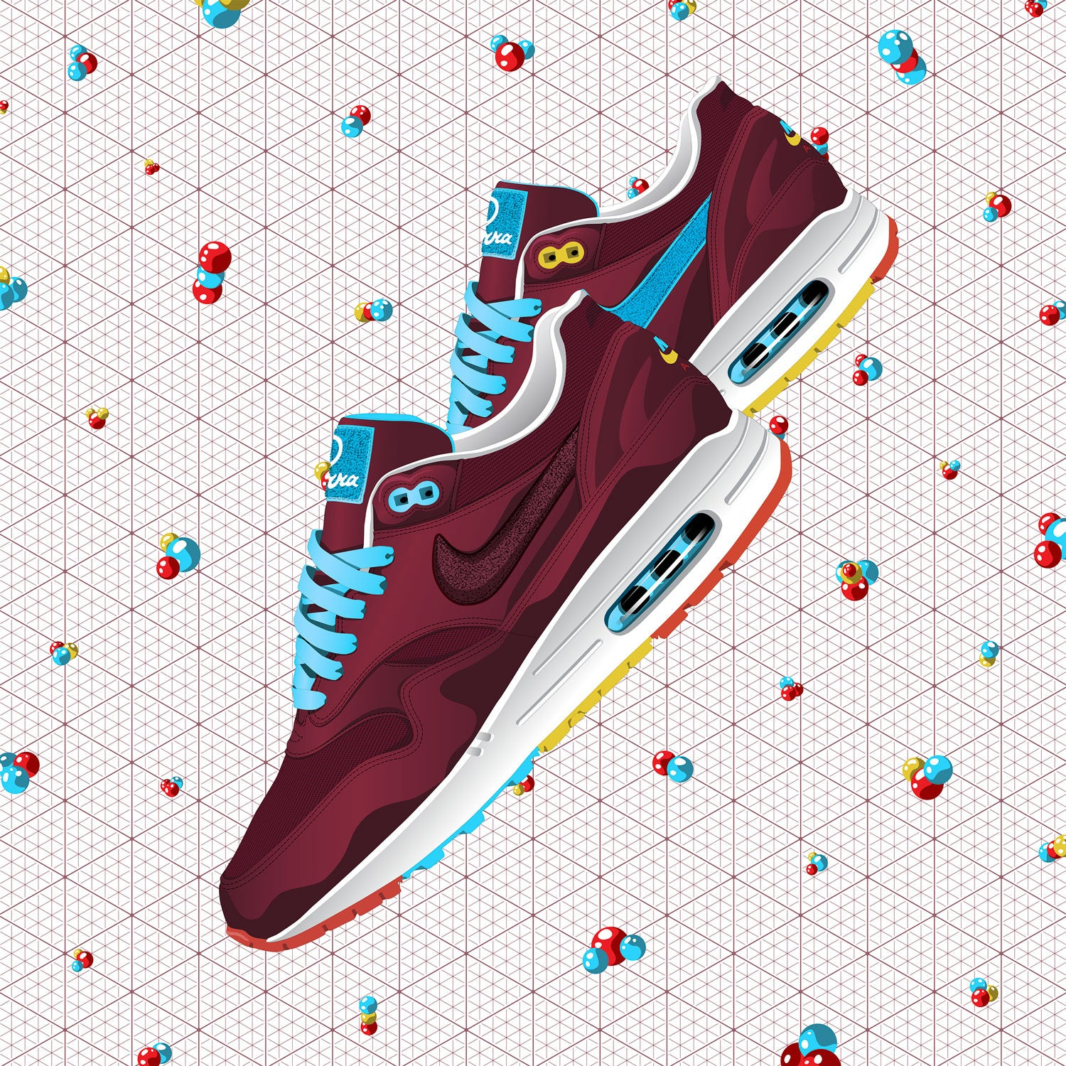 Contemporary Sneaker Art of the Nike Air Max 1 Patta x Parra
