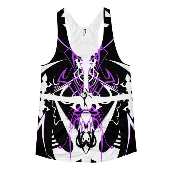 Black Atlantis Women's racerback tank