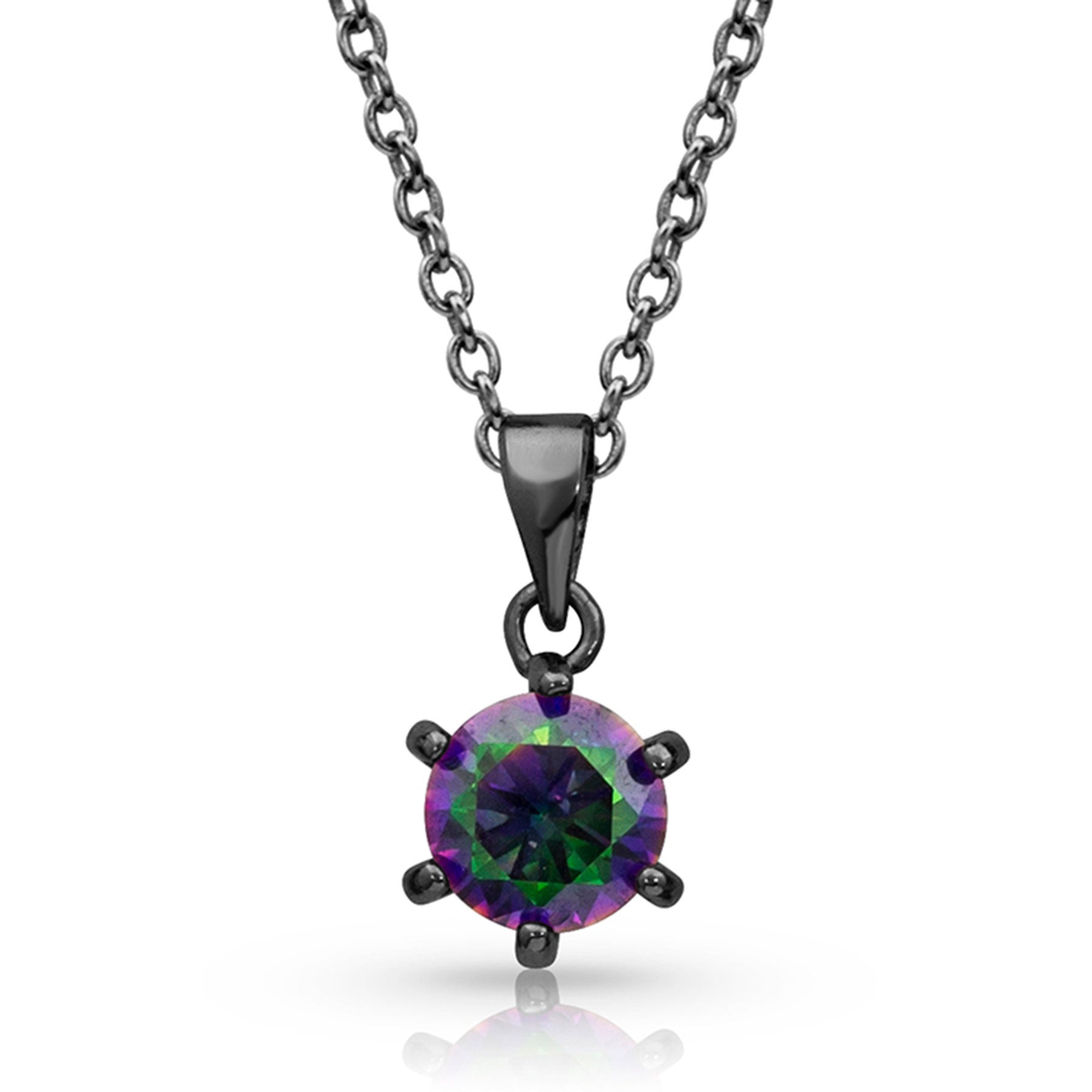 Montana Silver Northern Lights Solitaire Necklace
