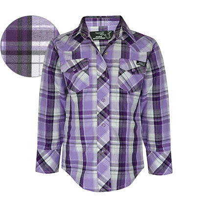 TC Girls Judy Check Shirt