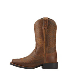 Kids Ariat Honor Distressed Brown