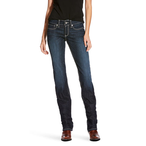 Ariat Womens Splash Supernova Straight Leg Jean